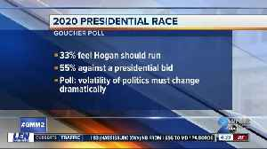 Goucher Poll looks at Hogan and Trump's approval, 2020 presidential race [Video]
