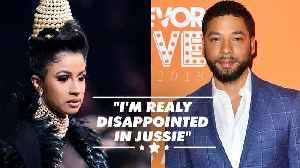Cardi B says Jussie Smollett 'f***ed up Black History Month' [Video]
