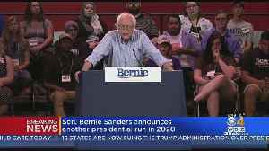 News video: Bernie Sanders Launches Second Presidential Campaign