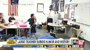 Largo High history teacher dresses like Abe Lincoln, earns both love and respect from students [Video]