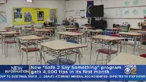 Pa. AG's Office: School Threat System Fields Nearly 5,000 Calls In First Month [Video]
