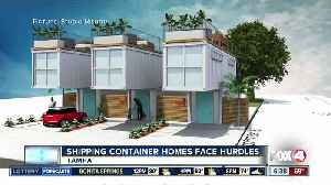 Shipping container homes proposed in Florida, facing hurdles [Video]