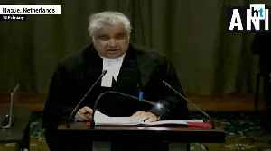 Death sentence awarded to Jadhav by Pak court farcical India to ICJ [Video]