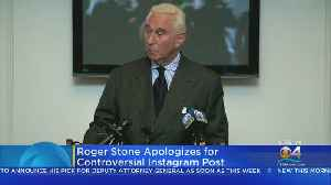 Roger Stone Apologized For Controversial Instagram Picture [Video]