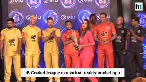 Sehwag Laxman Gibbs others attend iB cricket super over league announcement event [Video]