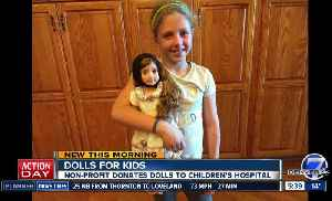 Dolls for Kids donating dolls for Children's Hospital Colorado [Video]