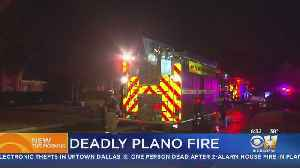 Man Dies After Trying To Escape House Fire In Plano [Video]