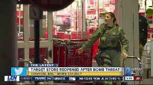 Bomb threat prompts evacuation of Towson Target [Video]