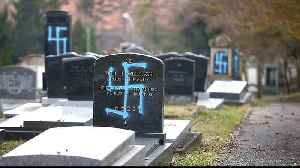 Jewish cemetery desecrated as anti-Semitic attacks rise in France [Video]