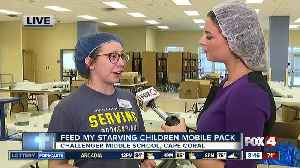 Feed My Starving Children holds mobile meal pack in Cape Coral [Video]