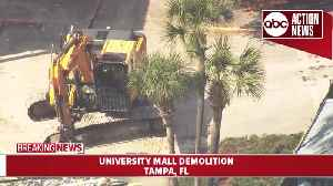 Demolition of University Mall begins Tuesday to prepare for redevelopment [Video]