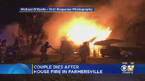 Police, Deputies & Family Tried To Save Collin County Couple From Fire [Video]