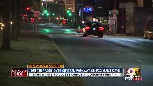 Debate rages over Central Parkway on FC Cincinnati game days [Video]