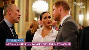 Meghan Markle Makes Secret Trip to New York City for Baby Shower with Friends [Video]