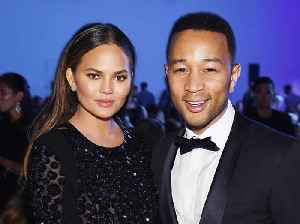 John Legend says Chrissy Teigen gets 'devilish look' before funny tweets [Video]