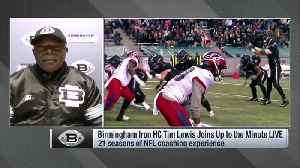 Birmingham Iron coach Tim Lewis discusses Trent Richardson's American Alliance Football success [Video]