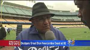Dodgers Mourn Passing Of All-Time Pitching Great Don Newcombe [Video]