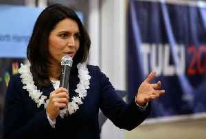 Rep. Tulsi Gabbard Pitches her Commander-In-Chief Credentials in N.H. [Video]
