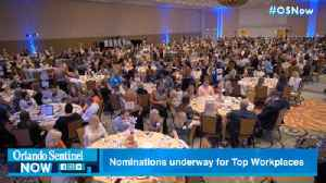 Nominations underway for Orlando Sentinel Top Workplaces [Video]