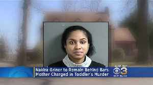 Woman Charged In Murder Of 23-Month-Old Son Suffering From Severe Post-Partum Depression, Attorney Says [Video]