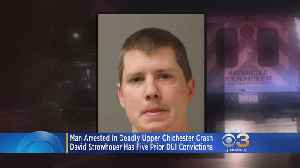 Man Arrested In Deadly Upper Chichester Crash Has 5 Prior DUI Convictions [Video]