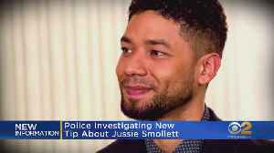 News video: Chicago Police Following Tip In Smollett Case