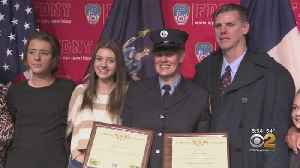 Long Island Mom Rejoins The FDNY [Video]