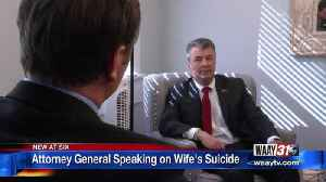 AG Steve Marshall Speaks on Wife's Suicide [Video]