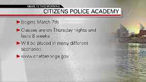 Citizens Police Academy 2-19-2019 [Video]