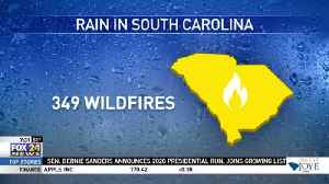 Wildfires in SC [Video]