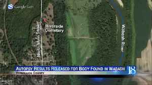 Death of woman in Wabash River consistent with drowning [Video]