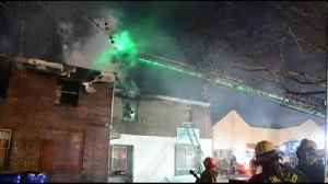 Fire destroys apartment in Pottstown, sends 2 to hospital [Video]