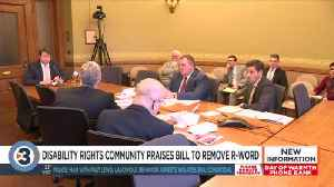 Disability rights community praises bill to remove offensive word from state law [Video]