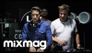 Davide Squillace, Martin Buttrich and Timo Maas in The Lab LDN [Video]