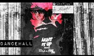 DANCEHALL: MAJOR LAZER ft. Nyla & Fuse O.D.G - Light it Up (Blinkie Remix) [Because] [Video]