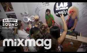 OM RECORDS Halloween special w/ TONE OF ARC & SHINY OBJECTS in The Lab LA [Video]