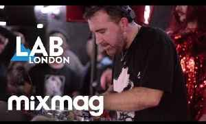 JOE GODDARD in The Lab LDN [SAVAGE takeover] [Video]