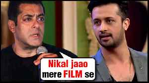 Salman Khan THROWS Pakistani Singer Atif Aslam Out Of His Films After Pulw@ma Attacks [Video]