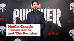 Jessica Jones And The Punisher Are Canceled [Video]