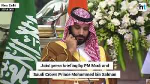 'Will cooperate on all fronts to combat terror': Saudi Crown Prince to Modi [Video]
