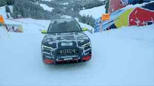 "Audi e-tron extreme - Technology demonstrator test on legendary ""Streif"" [Video]"