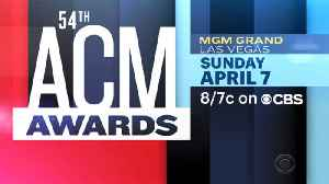 54th ACM Awards Nominations [Video]