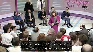 Rare footage of Anna Soubry breaking up TV brawl in 1988 [Video]
