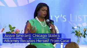 Jussie Smollett: Chicago State's Attorney Recuses Herself From Case [Video]
