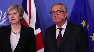 May Says 'Time is of the Essence,' On Latest Brussels Shuttle [Video]