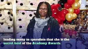 There's a Theory That Whoopi Goldberg Is the Secret Oscars Host [Video]