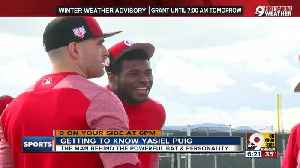 Yasiel Puig brings power bat, power personality to Reds [Video]