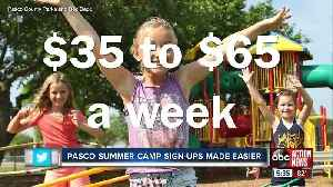 Pasco County summer camps to start online registration [Video]