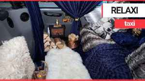 The world's cosiest taxi has been unveiled [Video]