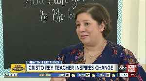 Inspirational Cristo Rey science teacher takes on motherly role for her students [Video]